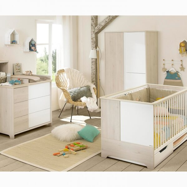 Galipette - Sacha - BABY COT WITH DRAWER